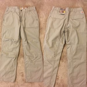 Men's Carhart Tacoma Ripstop relaxed fit pants,NWT